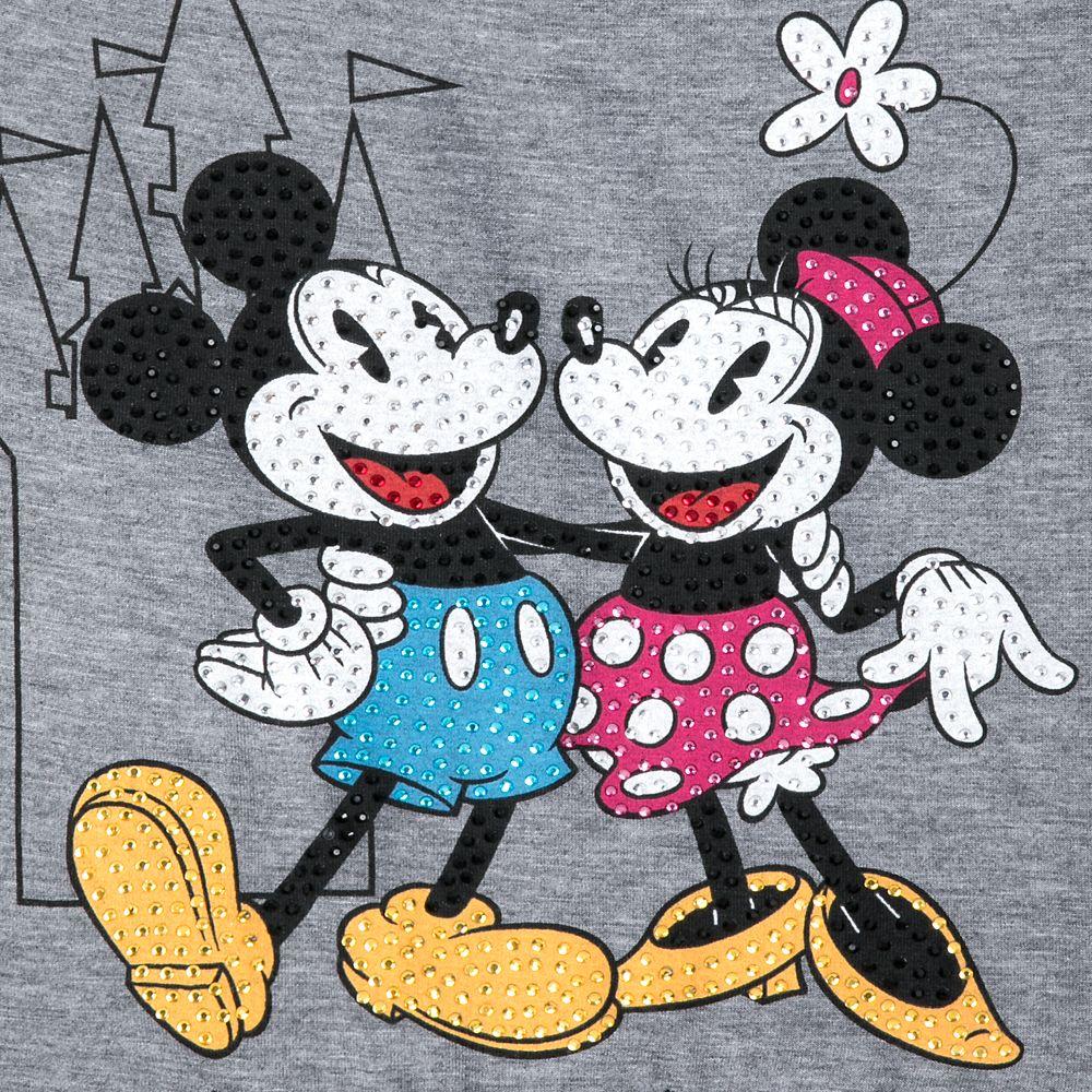 Mickey and Minnie Mouse Fashion T-Shirt for Women – Walt Disney World