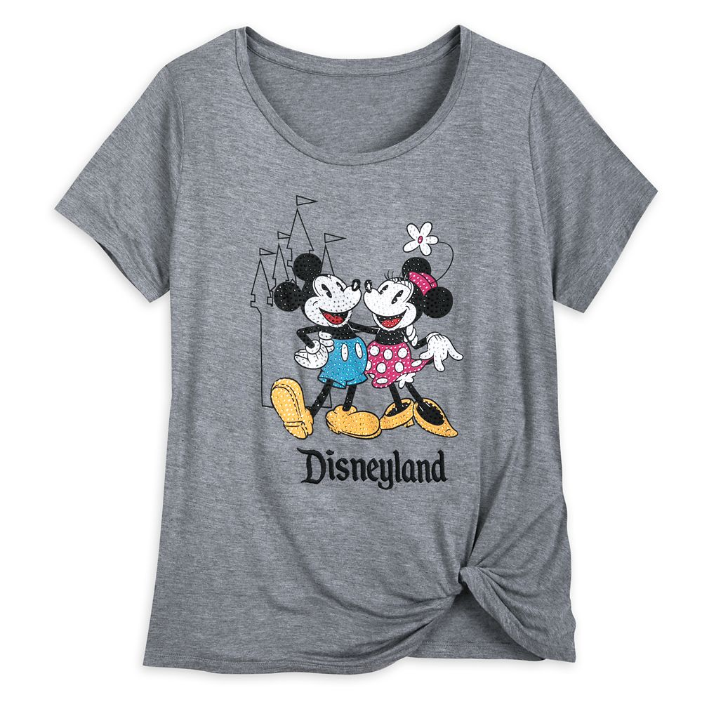 Mickey and Minnie Mouse Fashion T-Shirt for Women – Disneyland