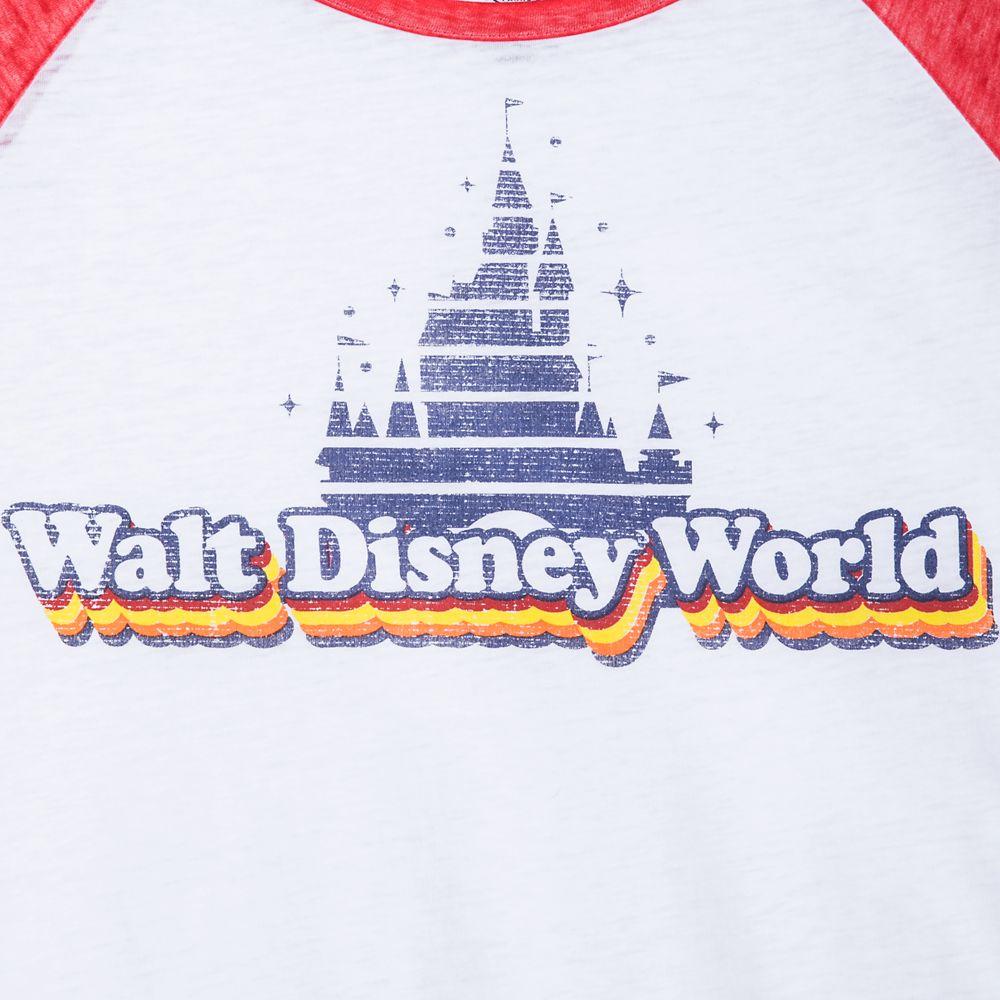 Walt Disney World Raglan Knotted T-Shirt for Women