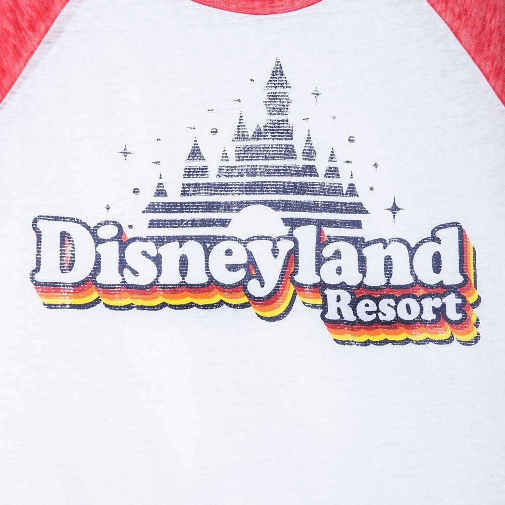 Disneyland Raglan Knotted T-Shirt for Women