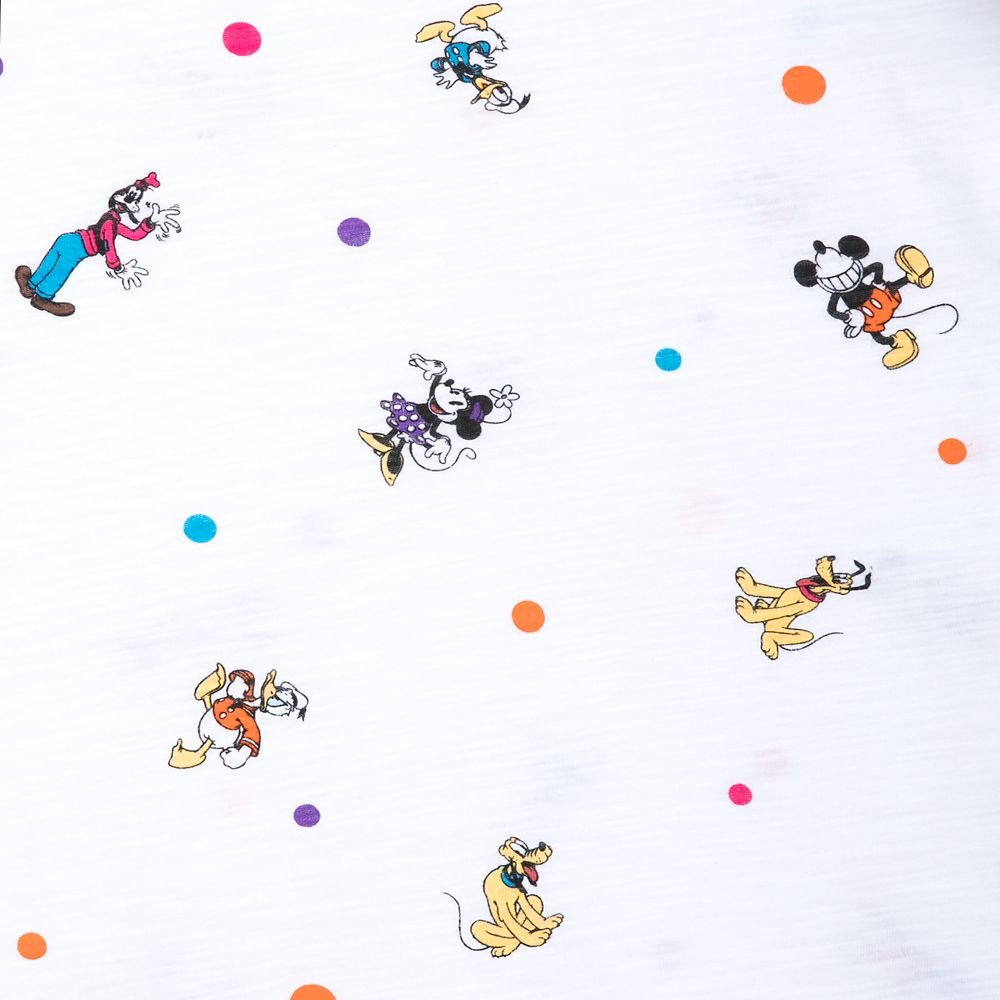 Mickey Mouse and Friends Cap Sleeve T-Shirt for Women – Walt Disney World