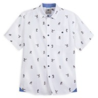 Captain Mickey Mouse Woven Shirt for Men by Tommy Bahama – Disney Cruise Line