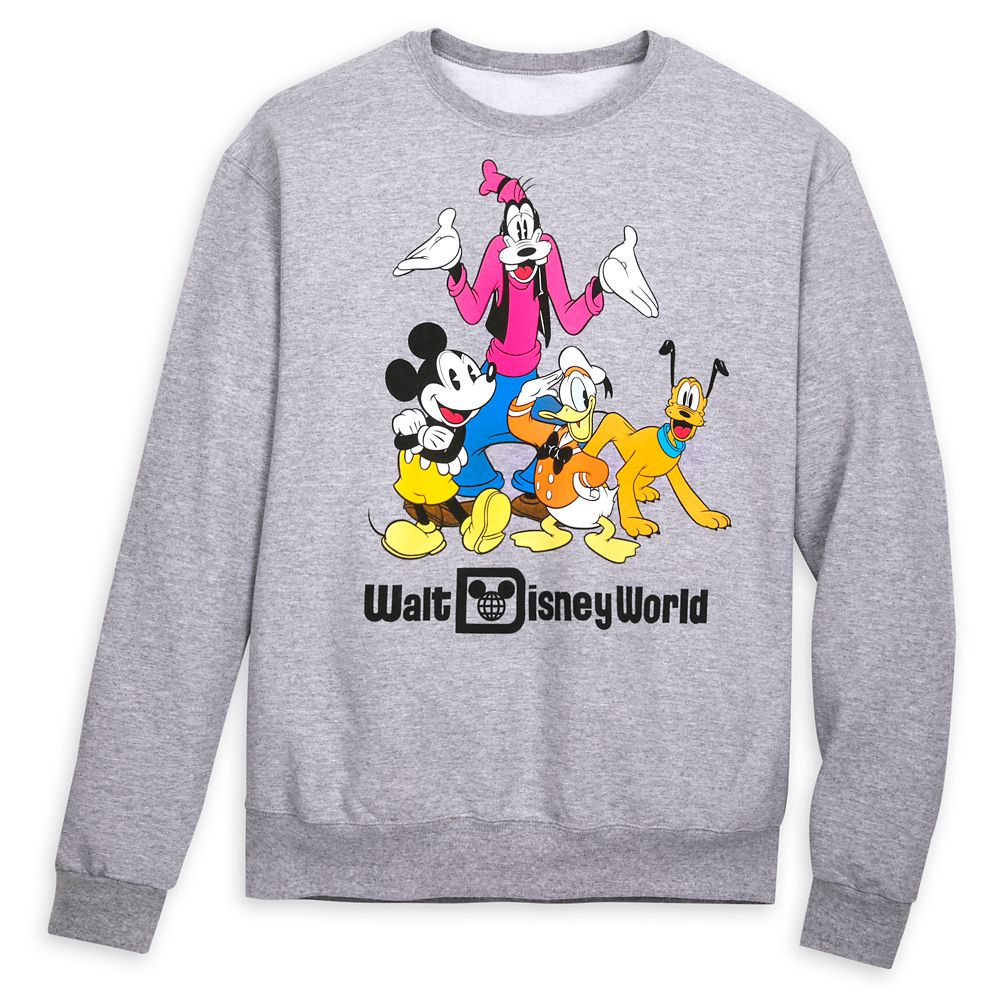 Mickey Mouse and Friends Sweatshirt for Adults – Walt Disney World