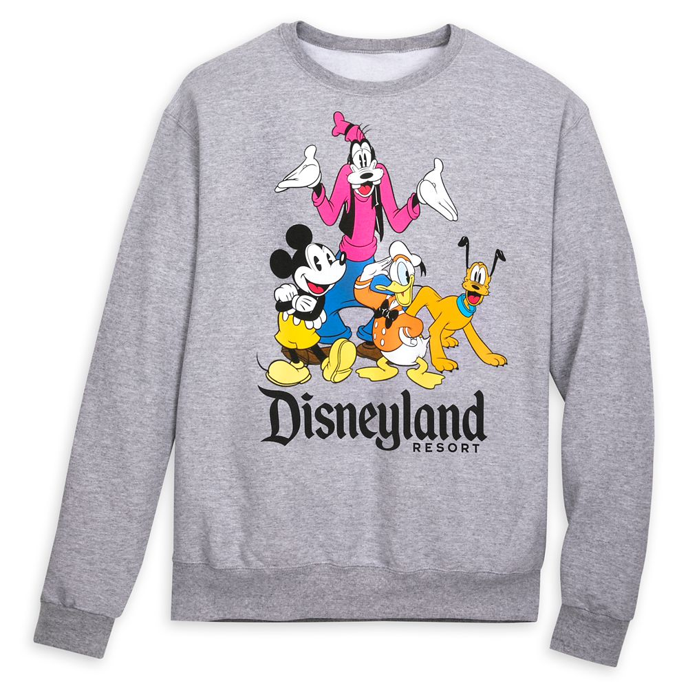 Mickey Mouse and Friends Sweatshirt for Adults – Disneyland