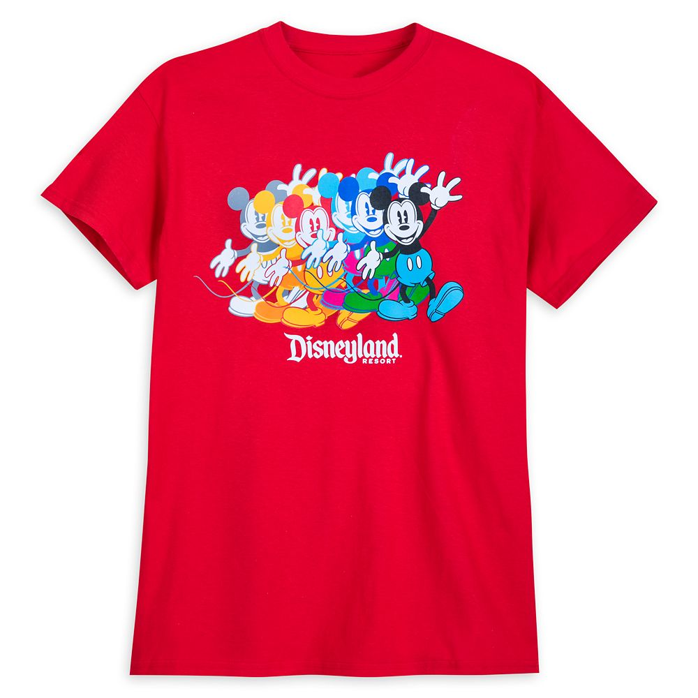 Mickey Mouse T-Shirt for Adults – Disneyland