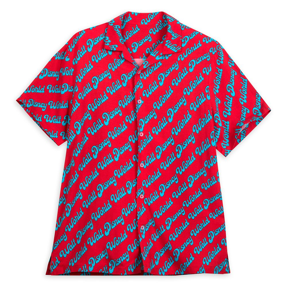 Walt Disney World Woven Shirt for Men