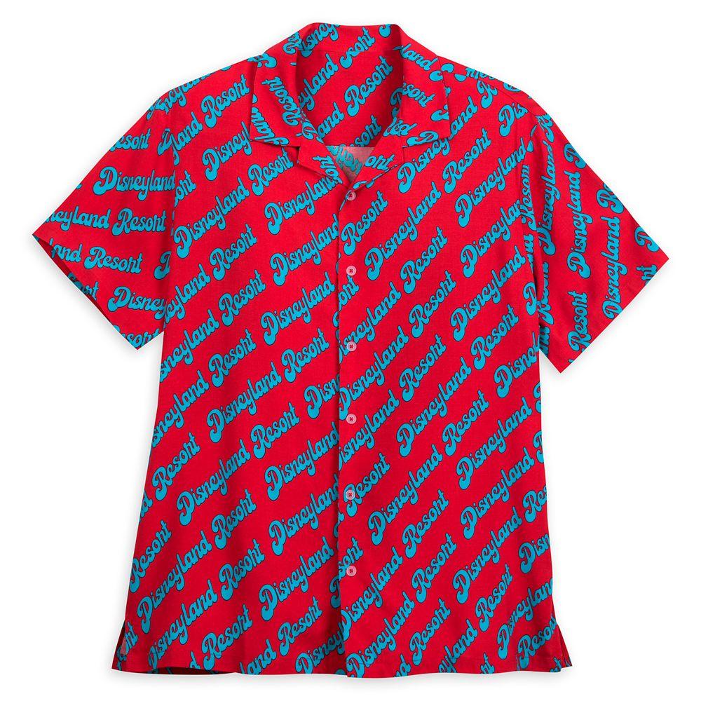 Disneyland Resort Woven Shirt for Men