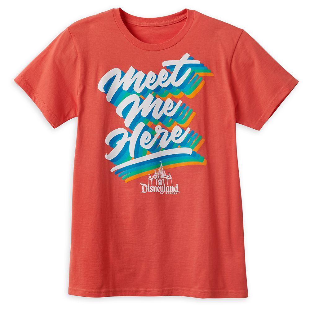 ''Meet Me Here'' T-Shirt for Adults – Disneyland