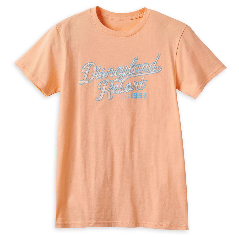 Disneyland Collegiate Script T-Shirt for Adults