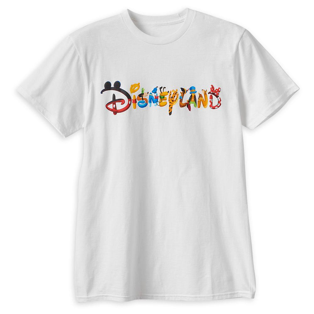 Disney Font T-Shirt for Adults – Disneyland