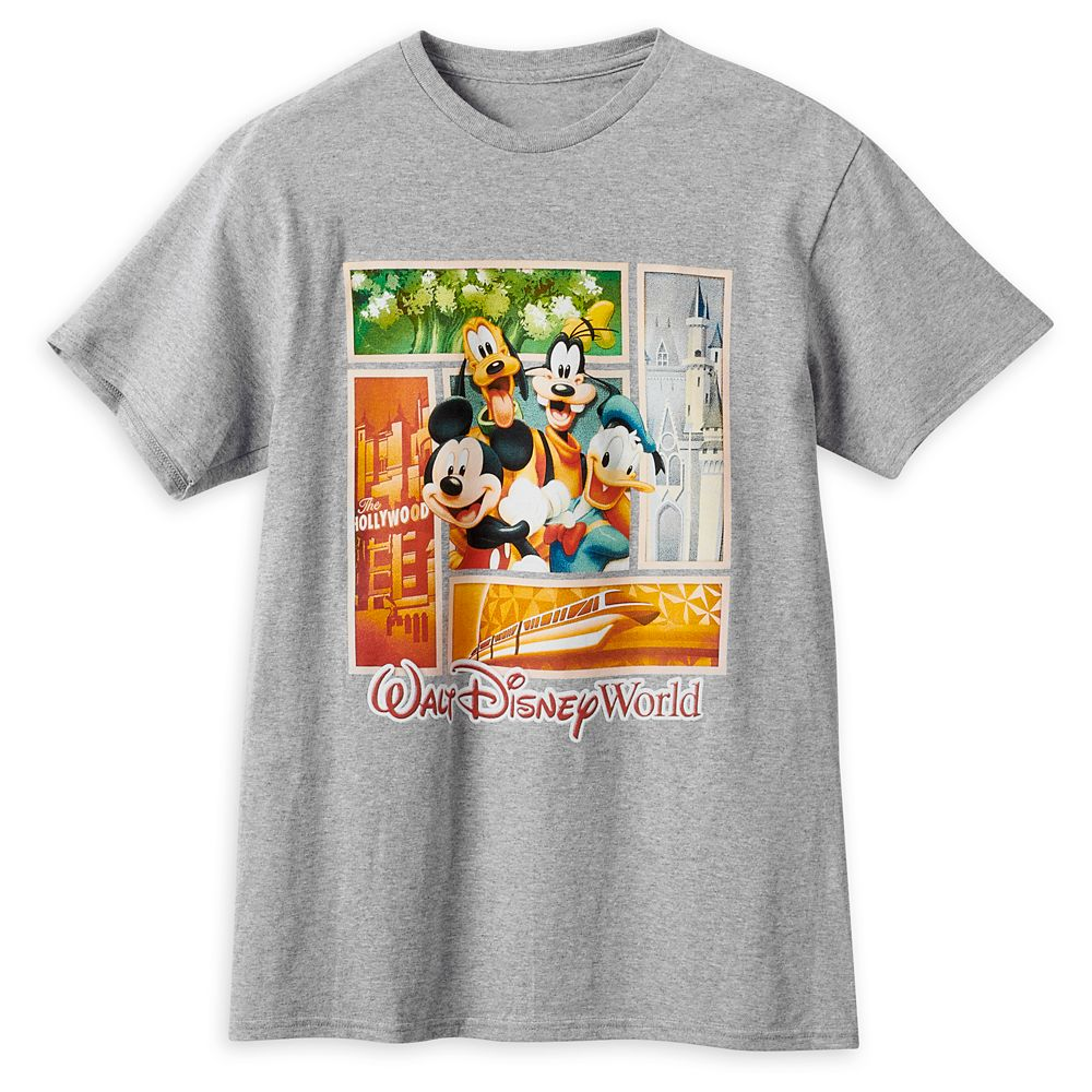 Mickey Mouse and Friends T-Shirt for Adults – Walt Disney World
