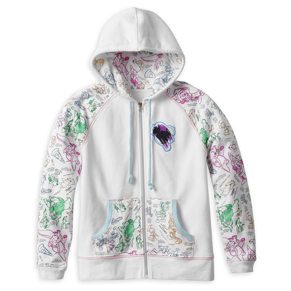 Disney Ink & Paint Zip Hoodie for Women – Walt Disney World