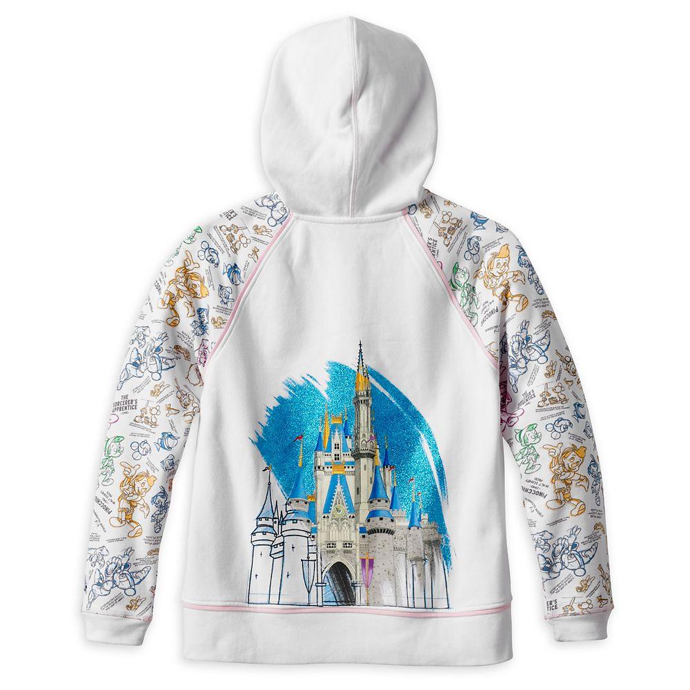 Disney Ink & Paint Zip Hoodie for Women – Walt Disney World