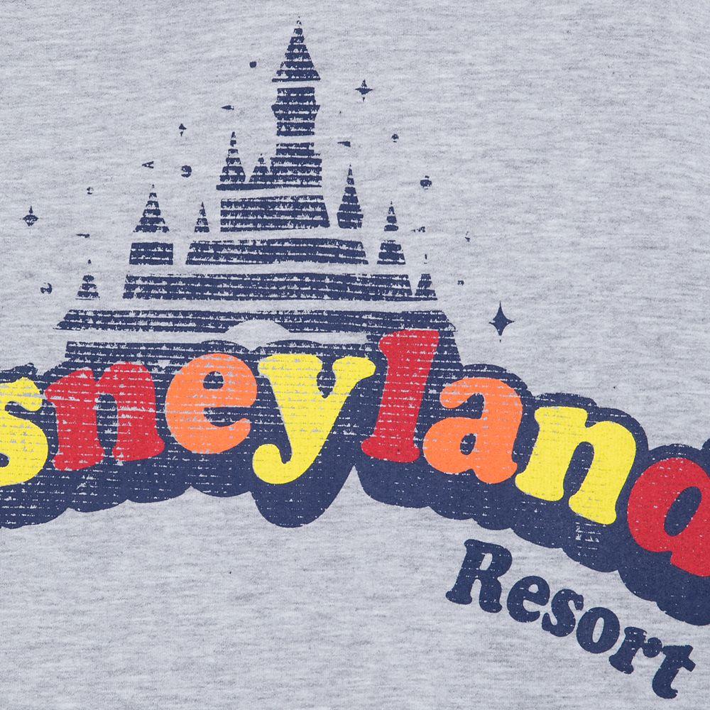 Disneyland Retro Pullover Hoodie for Women