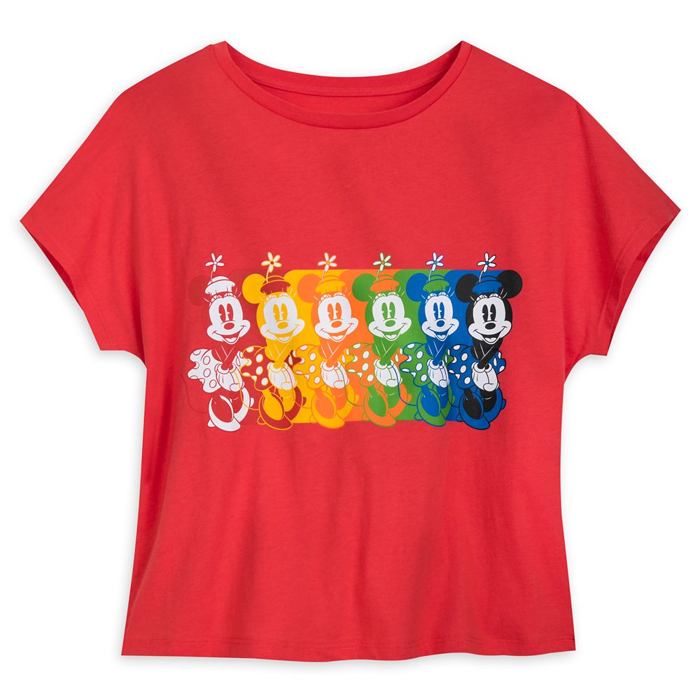 Minnie Mouse Dolman Sleeve T-Shirt for Women – Disneyland