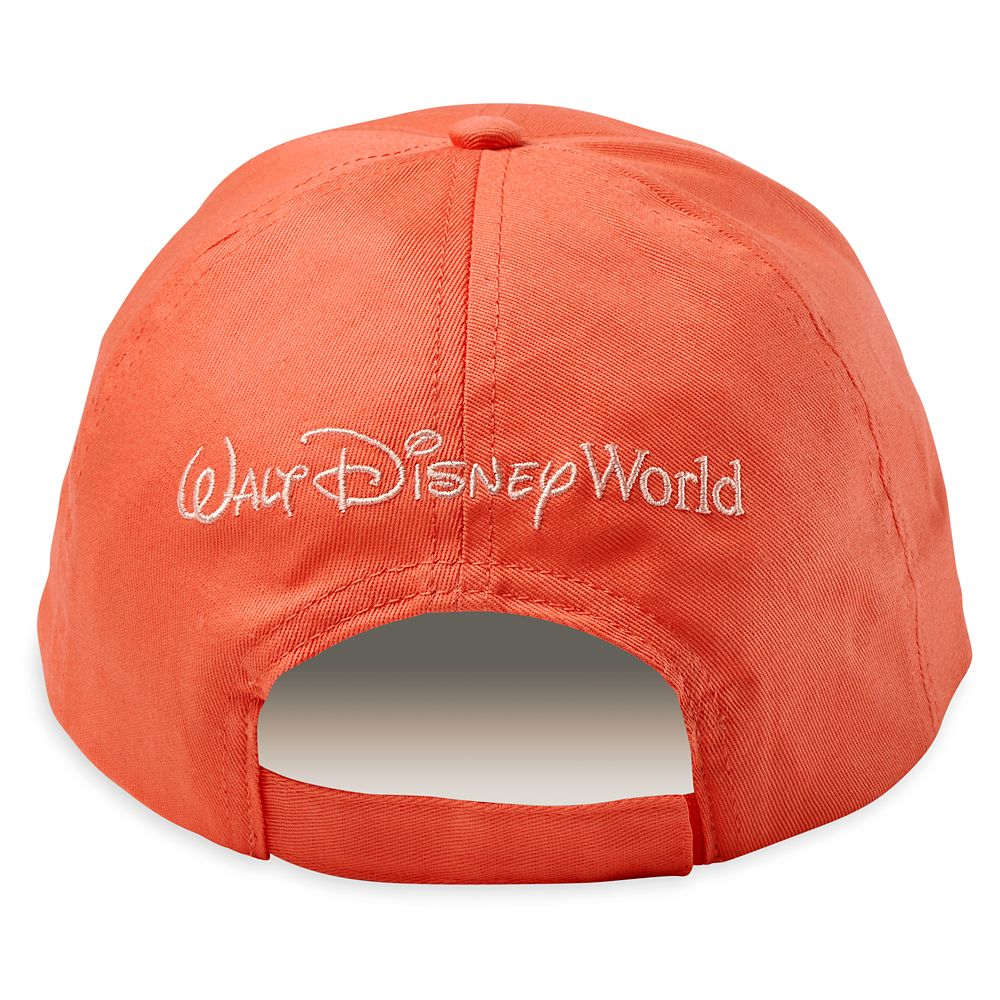 Walt Disney World Baseball Cap for Adults – Coral