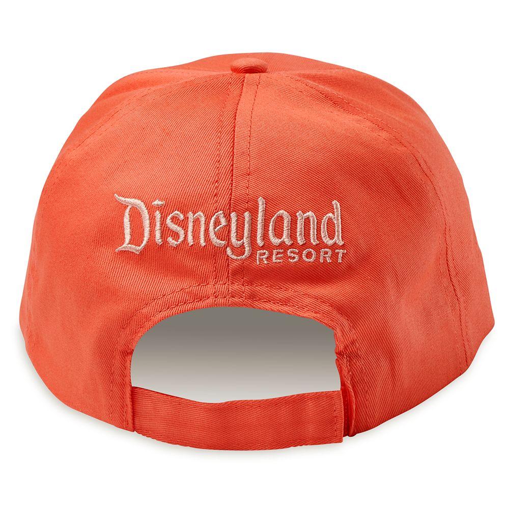 Disneyland Baseball Cap for Adults – Coral
