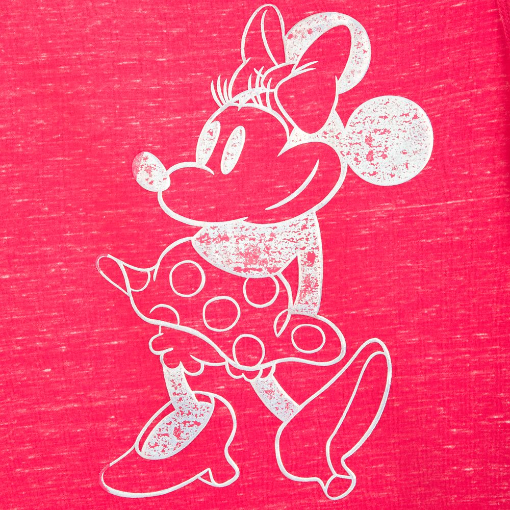 Minnie Mouse Tank Top for Women – Pink
