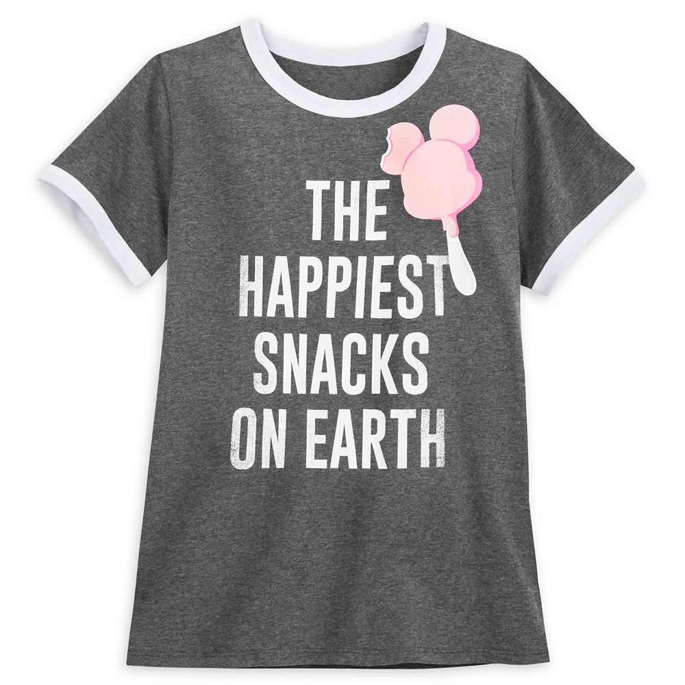 Mickey Mouse Ice Cream Ringer T-Shirt for Women