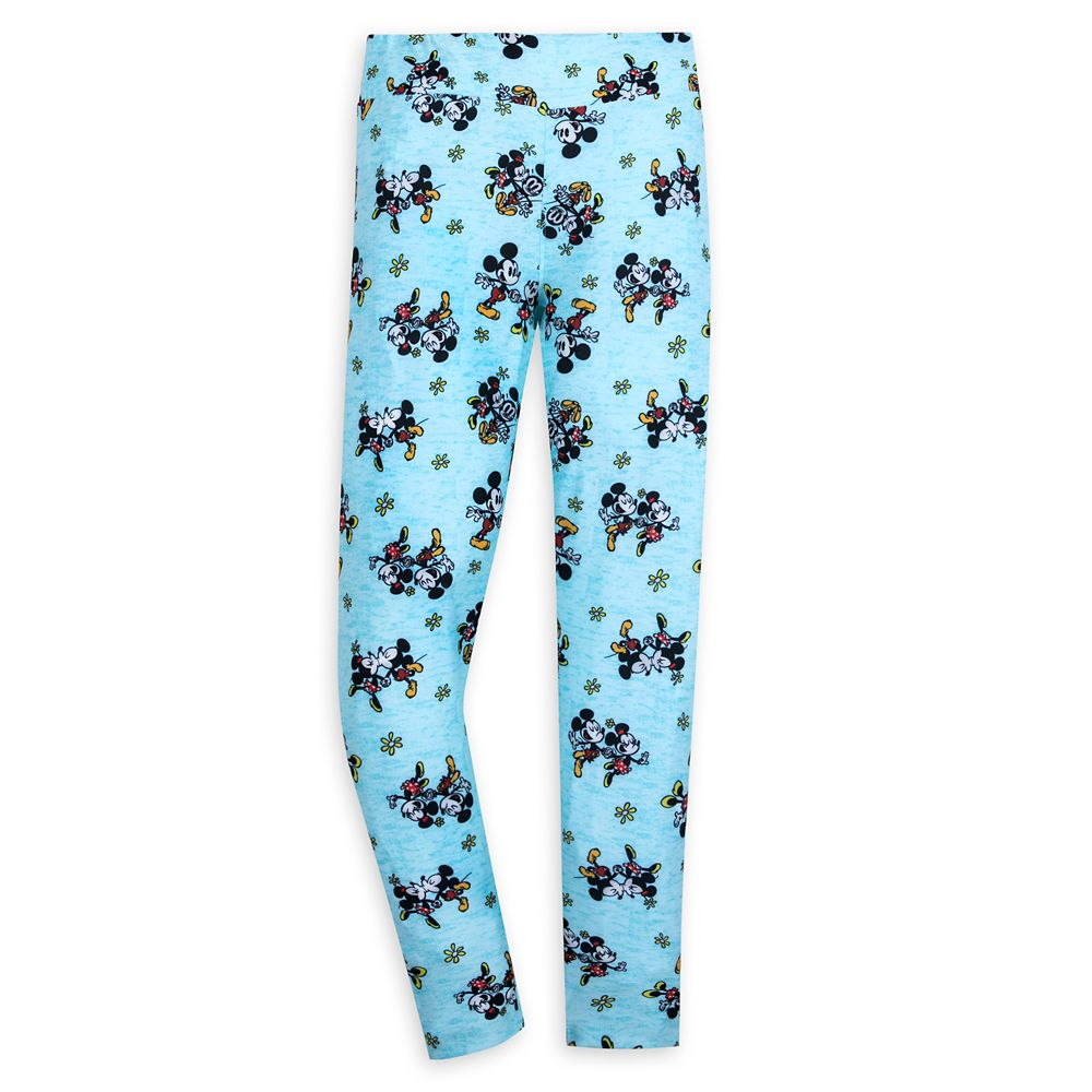 Mickey & Minnie's Runaway Railway Leggings for Women