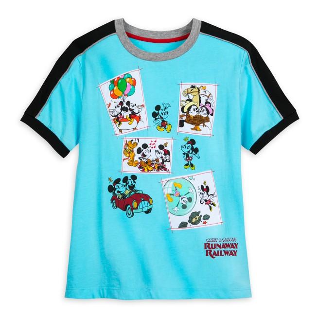 Mickey & Minnie's Runaway Railway Fashion T-Shirt for Women