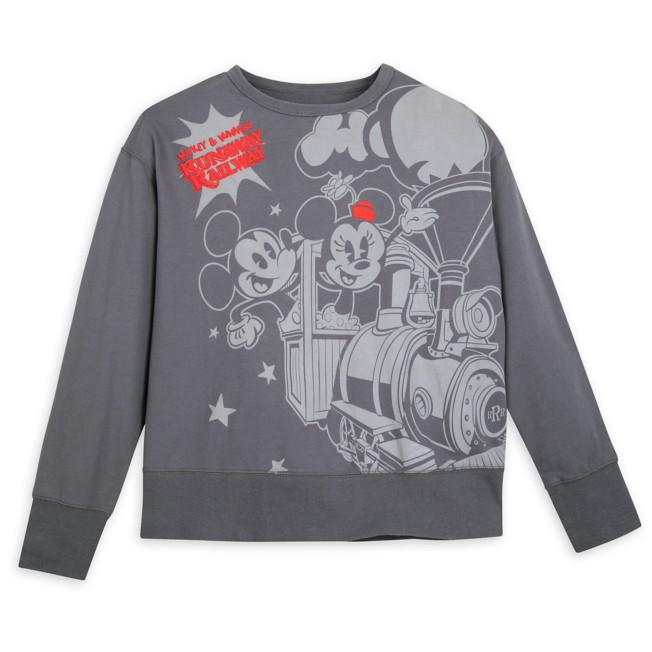 Mickey & Minnie's Runaway Railway Pullover for Women