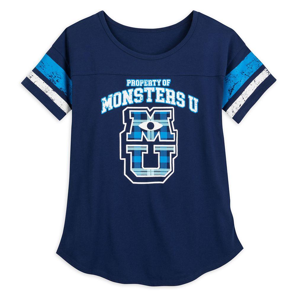 Monsters University Football T-Shirt for Women