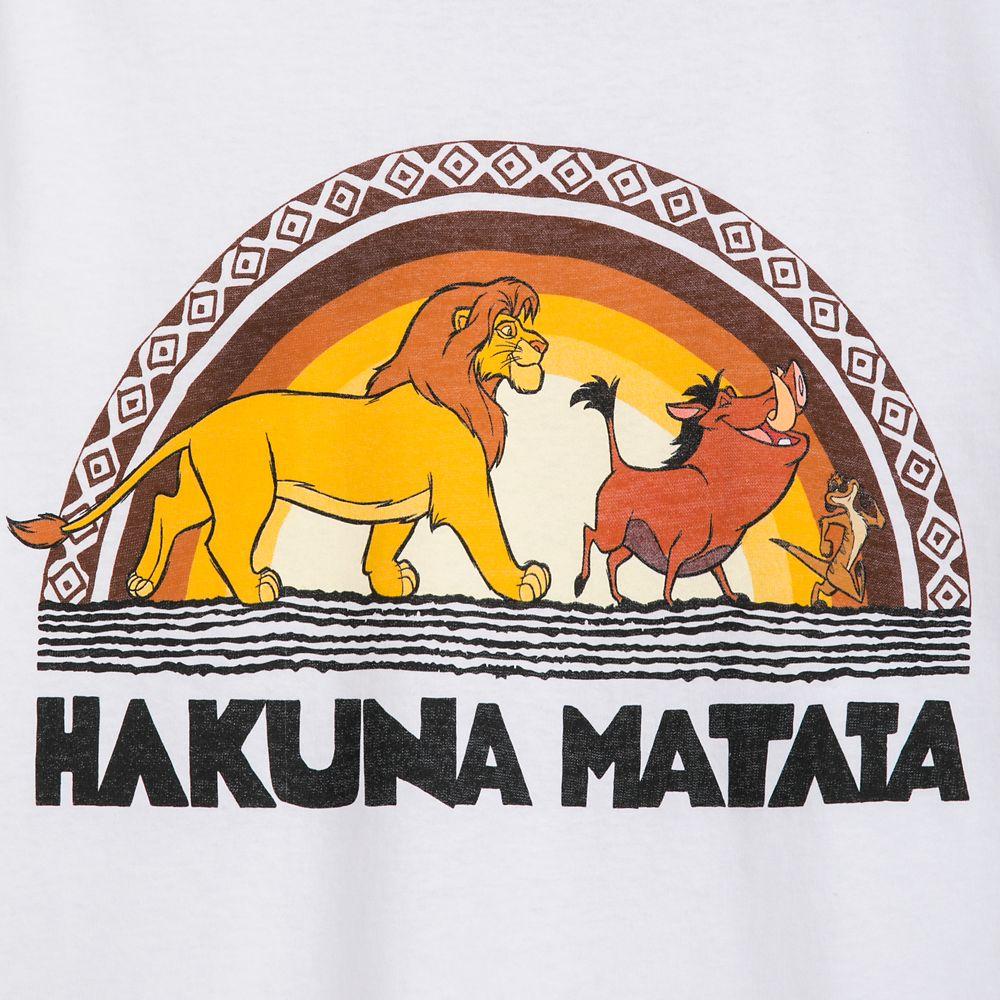The Lion King ''Hakuna Matata'' Ringer T-Shirt for Adults