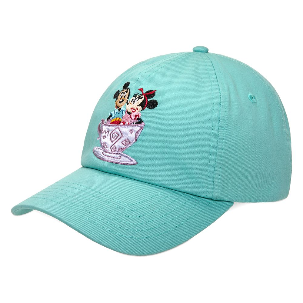 Mickey and Minnie Mouse Park Life Baseball Cap for Adults – Mad Tea Party – Disneyland