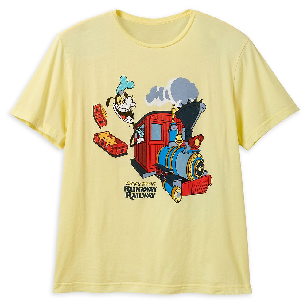 Goofy T-Shirt for Adults – Mickey&Minnie's Runaway Railway