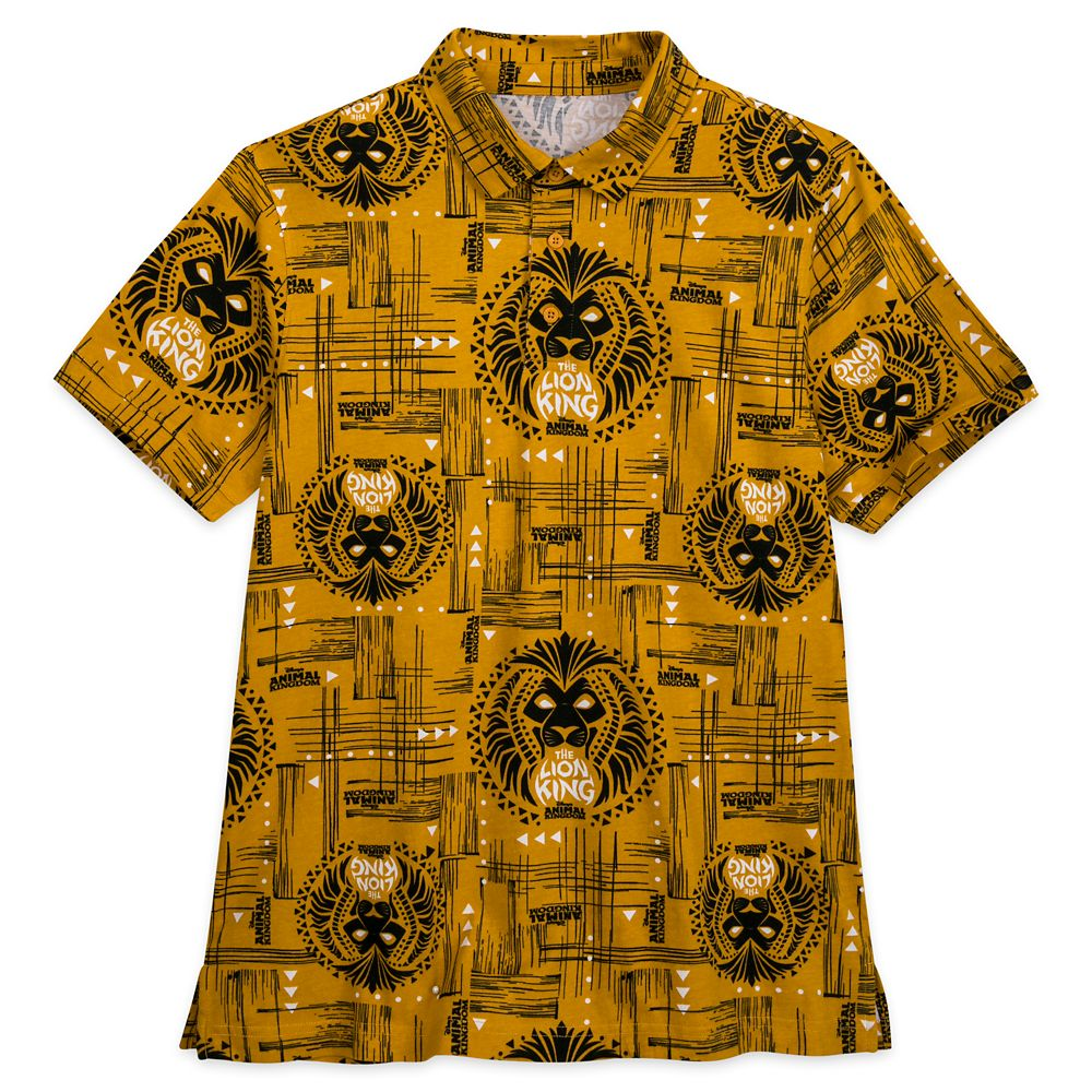 The Lion King Polo Shirt for Men – Disney's Animal Kingdom