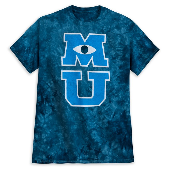 Monsters University Tie-Dye T-Shirt for Adults