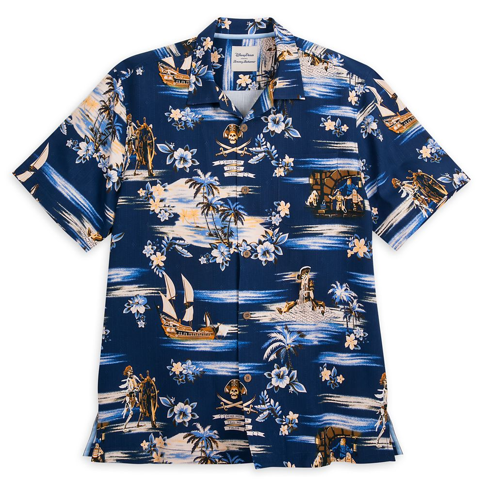 Pirates of the Caribbean Silk Shirt for Men by Tommy Bahama