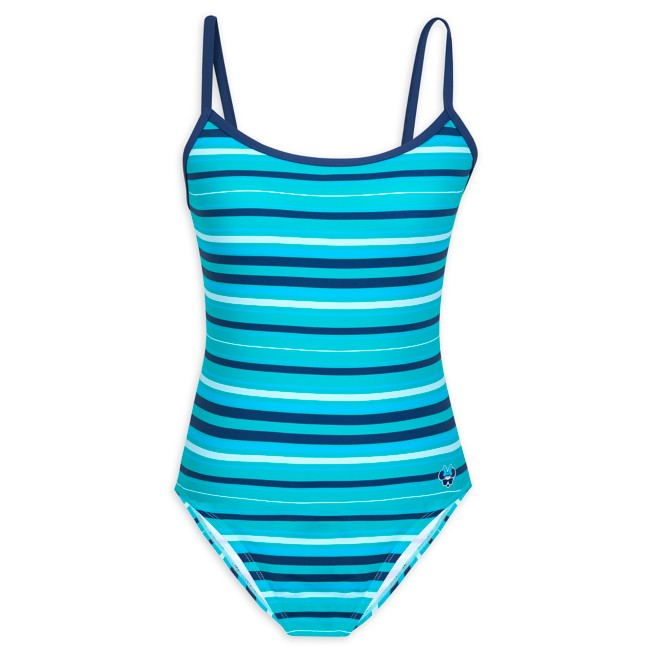 Minnie Mouse Striped Swimsuit for Women