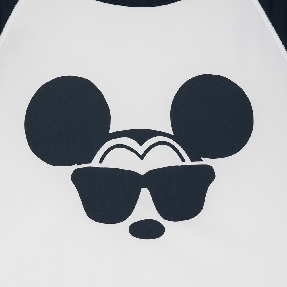 Mickey Mouse Rash Guard for Men