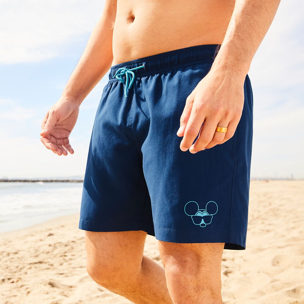 Mickey Mouse Swim Trunks for Men