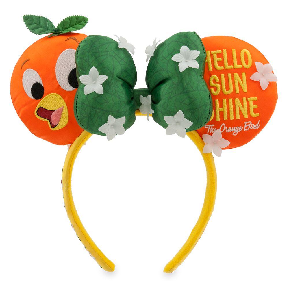 Minnie Mouse Orange Bird Ear Headband – Epcot International Flower and Garden Festival 2020