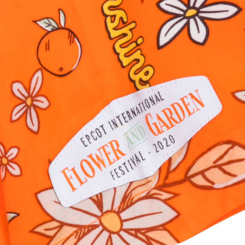 Orange Bird Aloha Shirt for Men – Epcot International Flower and Garden Festival 2020