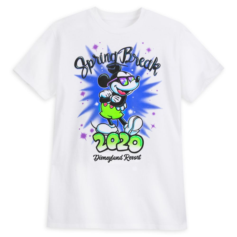 Mickey Mouse T-Shirt for Adults – Spring Break 2020 – Disneyland