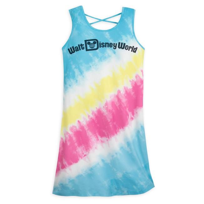 Walt Disney World Logo Tie-Dye Dress for Women