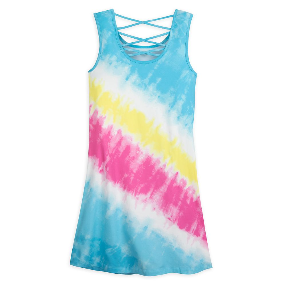 Disneyland Logo Tie-Dye Dress for Women