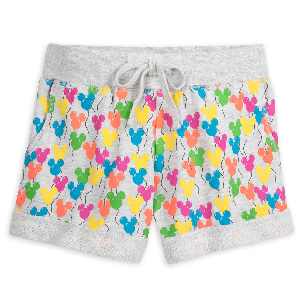 Mickey Mouse Balloons Shorts for Women – Disneyland
