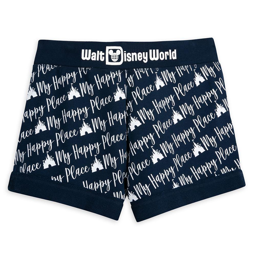''My Happy Place'' Shorts for Women – Walt Disney World