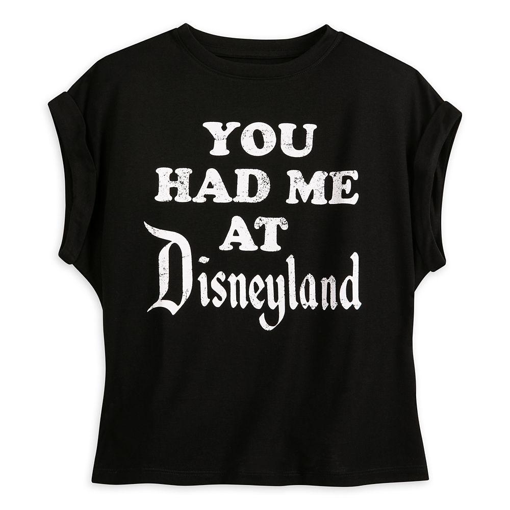 Disneyland Sleeveless T-Shirt for Women