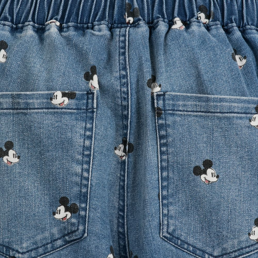 Mickey Mouse Denim Jogger Pants for Juniors