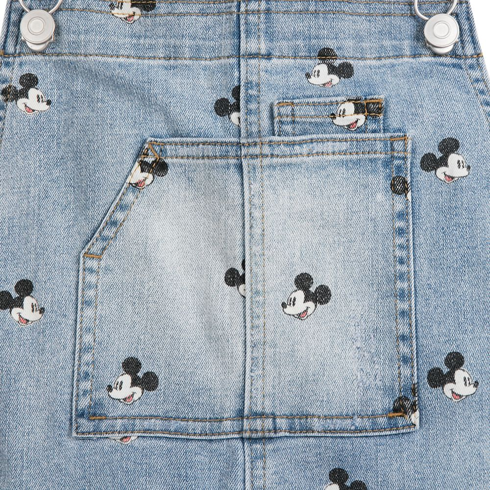 Mickey Mouse Overall Shorts for Juniors