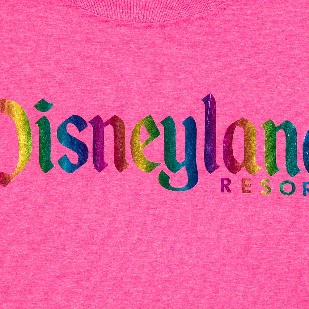 Disneyland Rainbow Logo T-Shirt for Adults