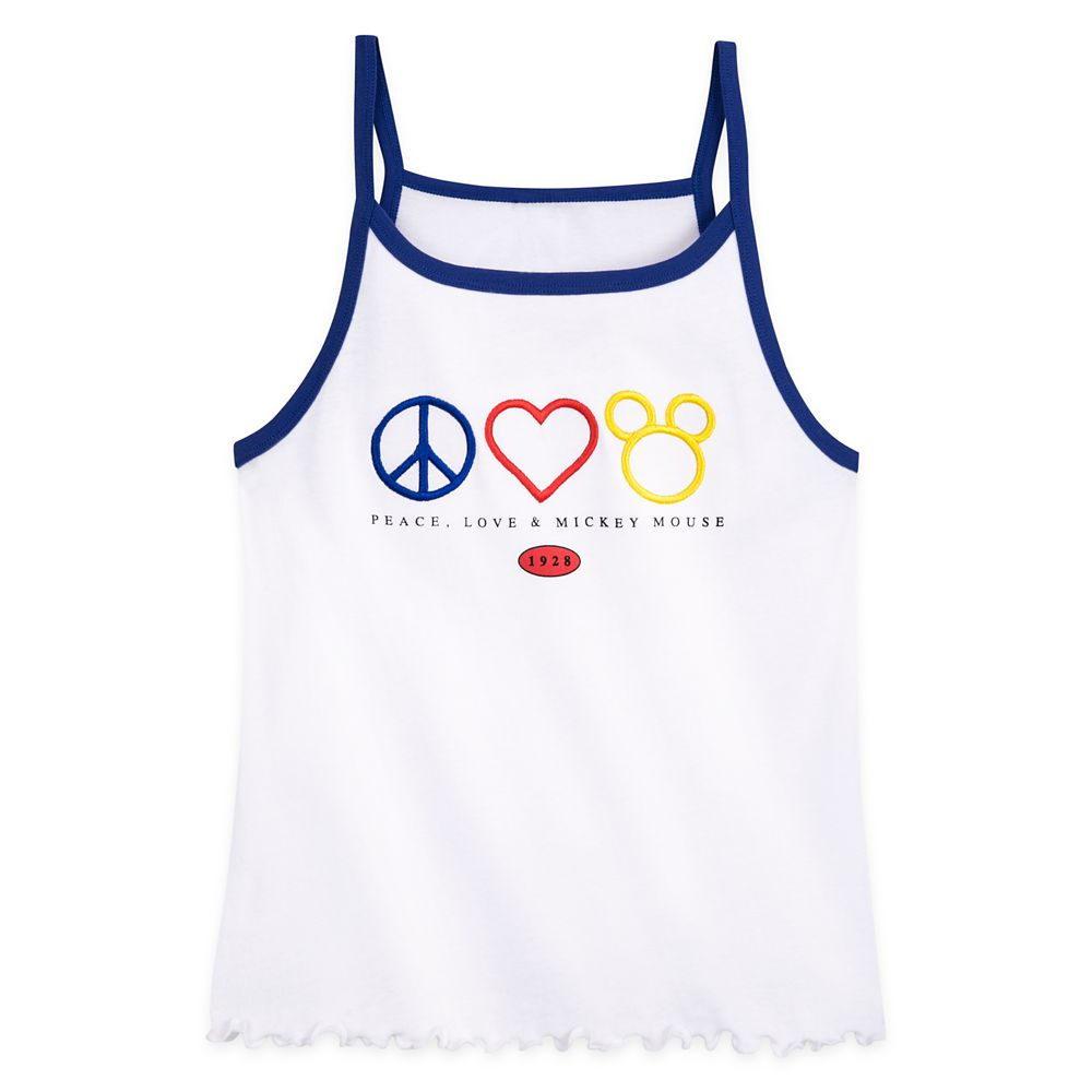 Mickey Mouse Icon Fashion Tank Top for Women