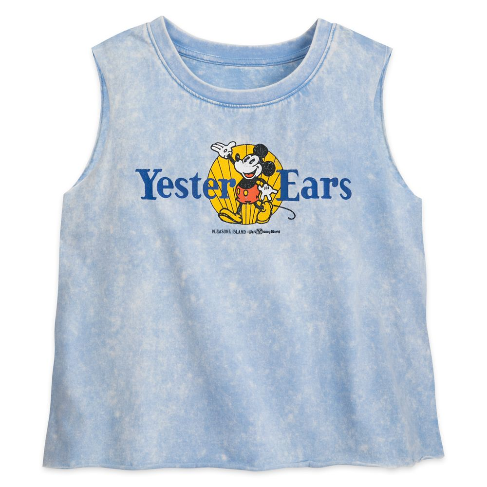 Mickey Mouse Semi-Cropped Tank Top for Women – Yester Ears