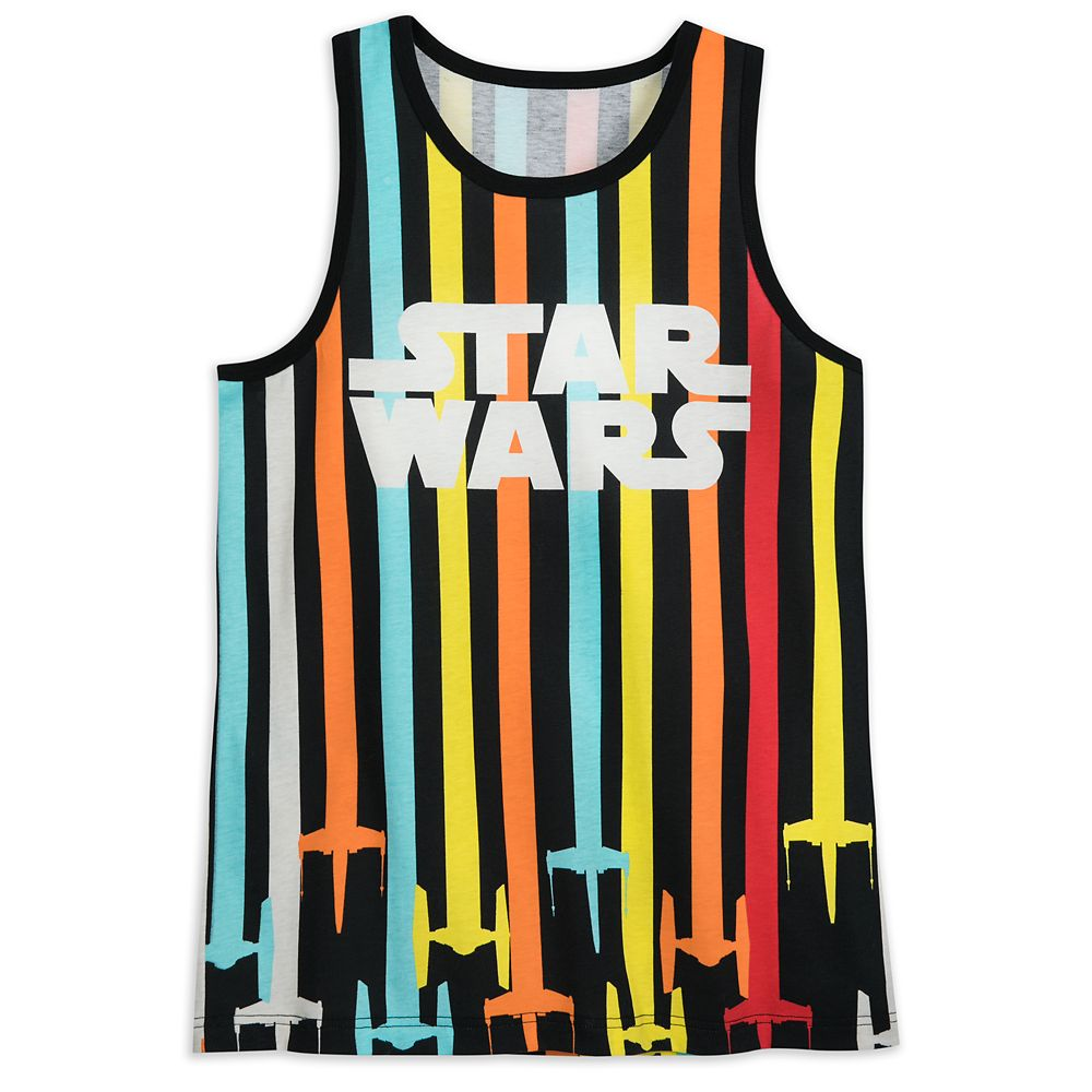 Star Wars Striped Tank Top for Adults